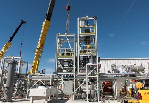 Pilotní projekt zpracování odpadu společnosti Sierra Energy, autor: Sierra Energy