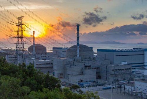 Čínská jaderná elektrárna Taišan, autor: EDF