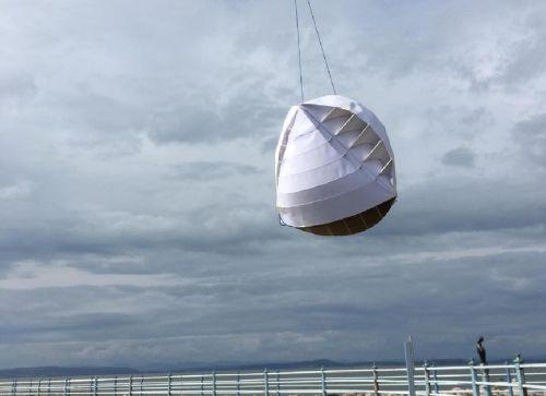 Prototyp větrné turbíny O-Wind. Zdroj: jamesdysonaward.org