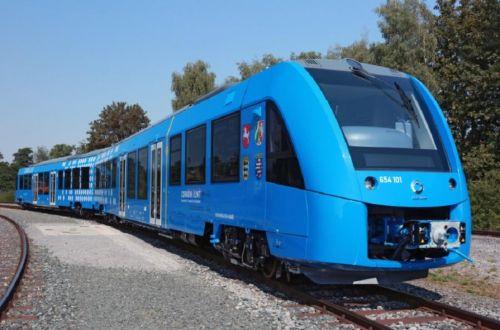 Vlak na vodíkový pohon Coradia iLint. Zdroj: Alstom