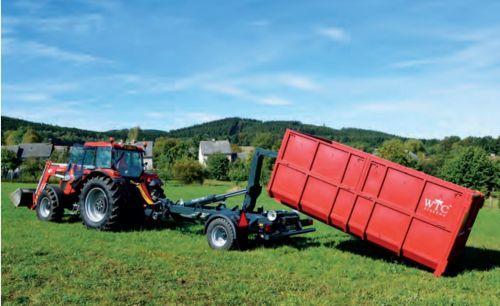 Traktorový nosič kontejnerů PORTÝR 7, foto: archiv HK ČR