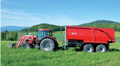 Traktorový návěs BIG 18.14, foto: archiv HK ČR
