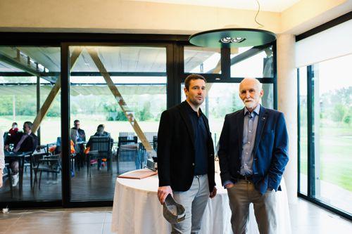 Jednatelé rodinné firmy Proxim (zleva) Jan Kroupa mladší a Jan Kroupa starší, který je zároveň ředitelem společnosti. Foto: Proxim