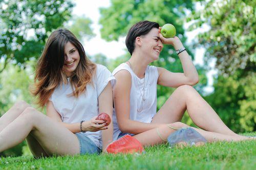 Zakladatelky startupu Frusack (zleva) Tereza Dvořáková a Hana Němcová. Foto: Frusack