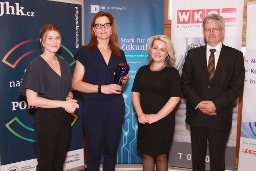 Firma z Prachatic oslovuje Němce i Rakušany, získala Cross Boarder Award