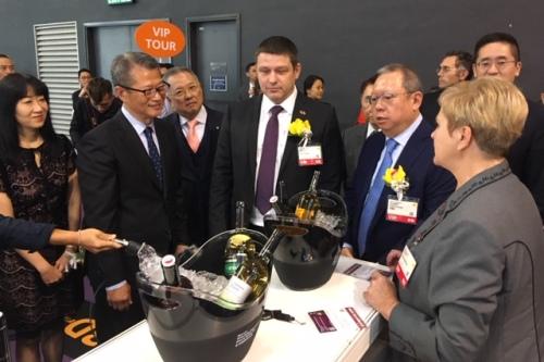 Víno z České republiky bodovalo v Hongkongu