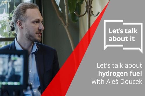 Let's talk about it s Alešem Douckem na téma vodíku jako paliva