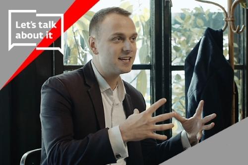 Let's talk about it s Vojtěchem Voseckým na téma cirkulární ekonomiky