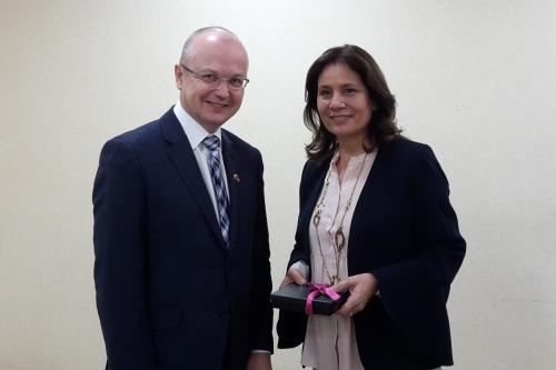 Náměstek ministra Eduard Muřický podpořil zapojení firem do rozvoje solární energetiky v Jordánsku