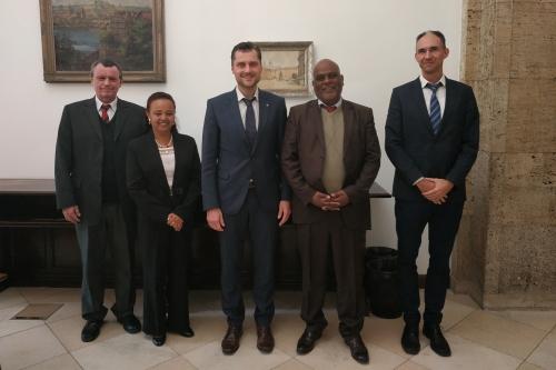V Praze proběhlo jednání o prohloubení spolupráce ČR a Etiopie