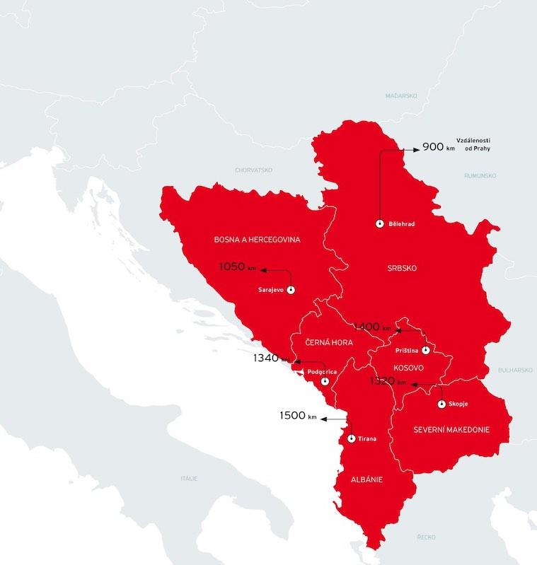Vstup Do Eu Motivuje Zeme Jihozapadniho Balkanu Ke Zlepsovani
