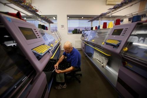 Kama vrytmu pletacích strojů