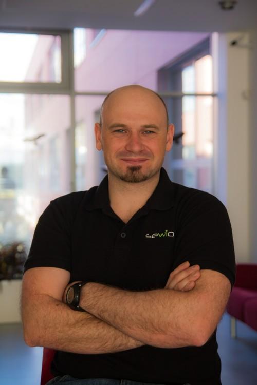 Milan Šimek, CEO společnosti Sewio