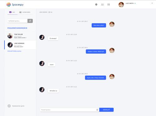 aplikace spacespy chat