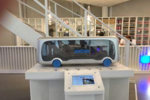 Model futuristického elektrobusu. Foto: AstanaExpo2017.cz