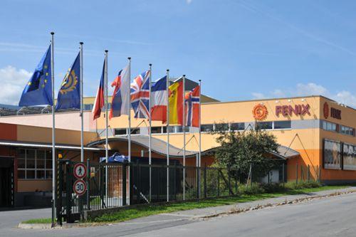 Sídlo společnosti Fenix Group v Jeseníku. Foto: Fenix Group