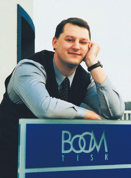 Robert Domnosil, ředitel společnosti Boom Tisk. Foto: Boom Tisk