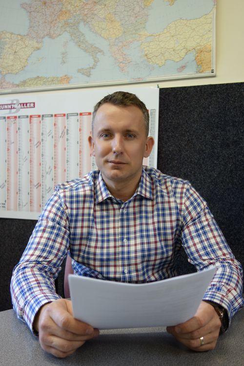 Jan Žirovnický, majitel společnosti Brunnthaller-CS. Foto: Brunnthaller-CS
