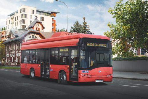 Elektrický autobus. Foto: Škoda Transportation