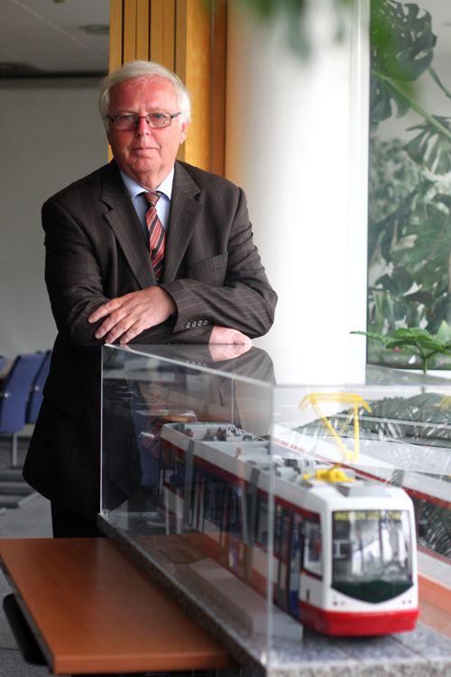 Josef Hušek, šéf společnosti Inekon. Foto: Inekon