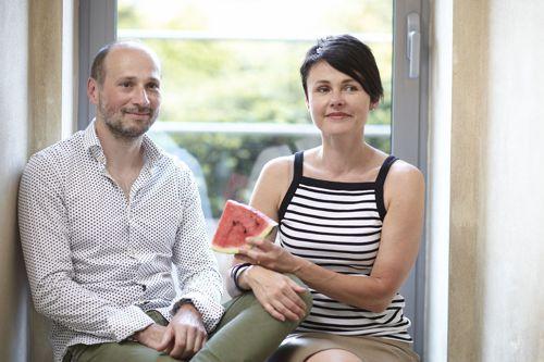 René Novák a Klára Nováková ze společnosti Le Bon. Foto: Le Bon