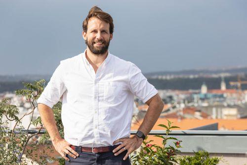 Richard Valtr, zakladatel startupu Mews. Foto: Mews