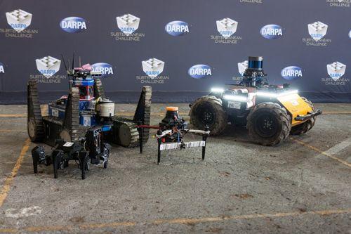 Souhra českých robotů v extrémních podmínkách získala prestižní cenu