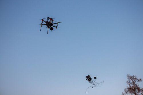 Český lovec dronů. Autonomní stroje hlídají bezpečí na letištích