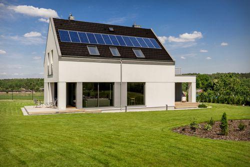 Solární elektrárna na rodinném domě. Foto: S-Power