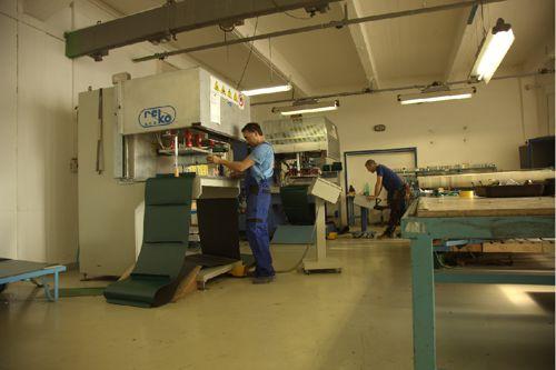 Výroba ve firmě Reko. Foto: Reko