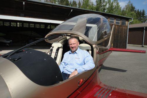 Andrzej Migus, komerční ředitel Zall Jihlavan Airplanes. Foto: Zall Jihlavan Airplanes