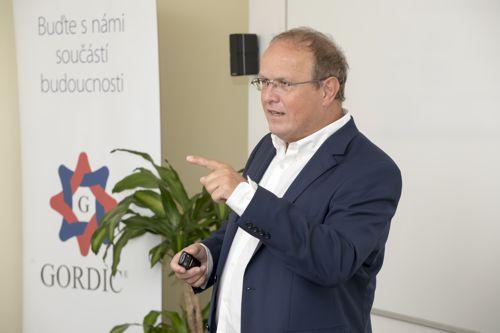 Zakladatel společnosti Gordic Jaromír Řezáč . Foto: Gordic