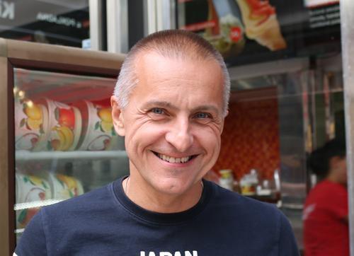 Petr Kobrle, spolumajitel Ovocného světozoru.  Foto: Mercedes Wimmerová