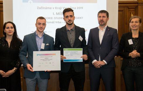 Podnikatelská soutěž Začínáme v Kraji Vysočina má pět vítězů