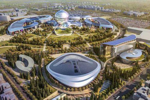 Hedvábná stezka přinesla dálnici napříč Střední Asií, včetně Kazachstánu
