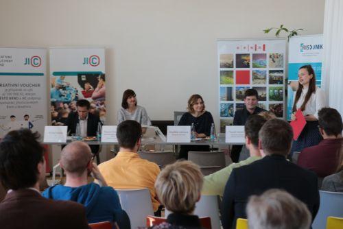 Odstartoval další ročník programu Kreativní vouchery Brno