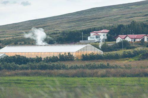 Geotermální elektrárna na Islandu. Foto: Shutterstock.com