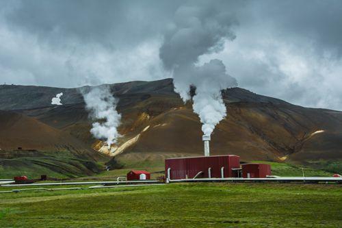 Geotermální elektrárna je šetrná k životnímu prostředí. Foto: Shutterstock.com