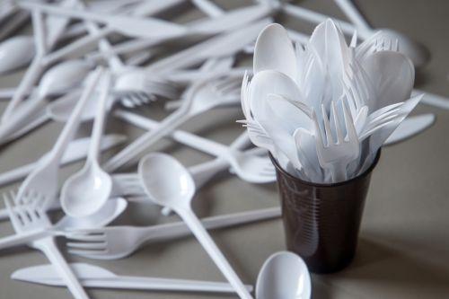 Jednorázové plasty, ilustrační foto