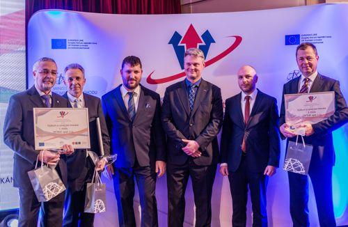 Vítězové soutěže Projekt roku 2018. Foto: API