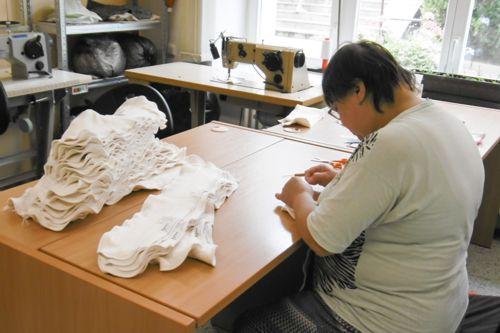 Výroba plen Bamboolik. Foto: Bamboolik