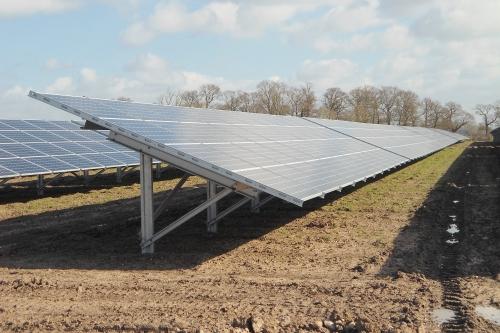 Kaska, solární elektrárna