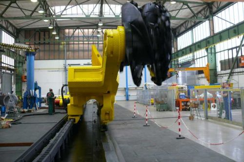 Důlní technika z T Machinery slouží od Ruska přes Vietnam až po Španělsko