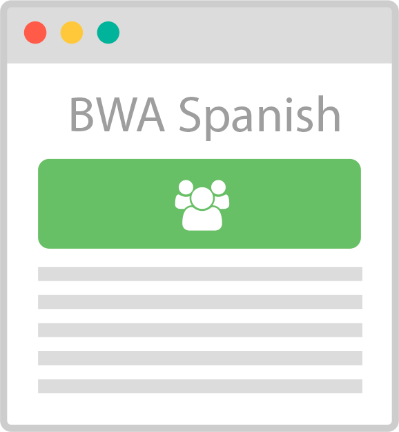 Business Web Admin Spanish version