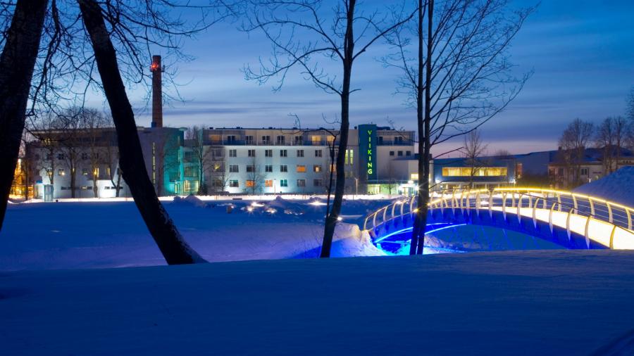 Kylpylämatkalle Pärnuun helmikuussa la-la 1