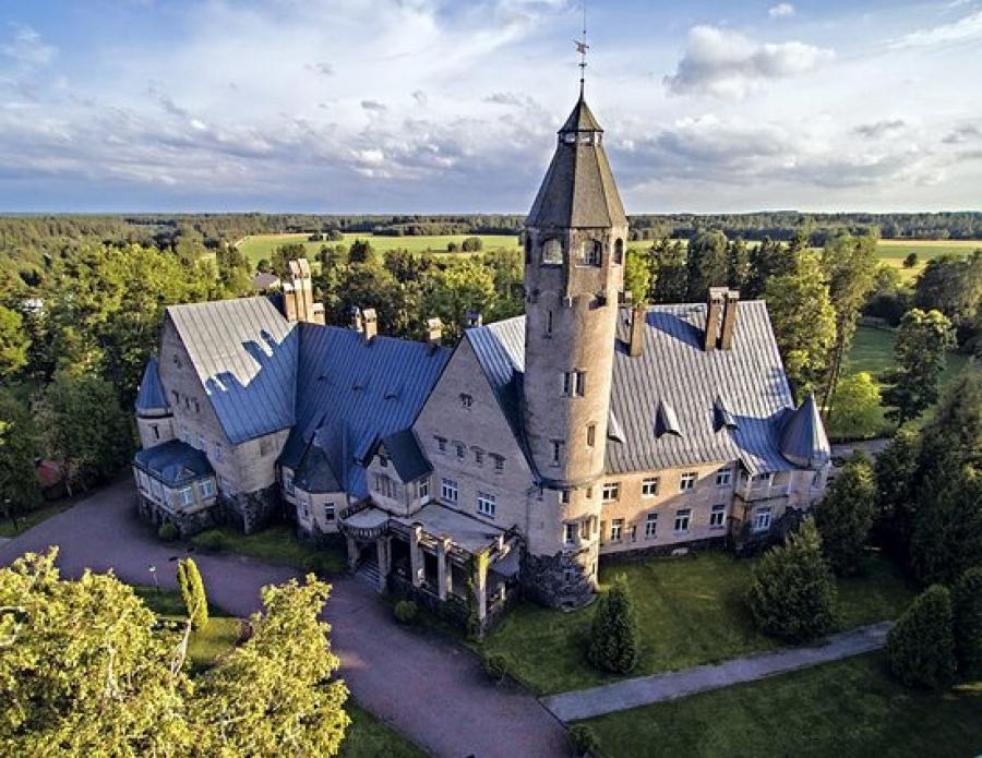 Joulu upeassa Wagenküllin linnassa Virossa 23.12. - 26.12. 1