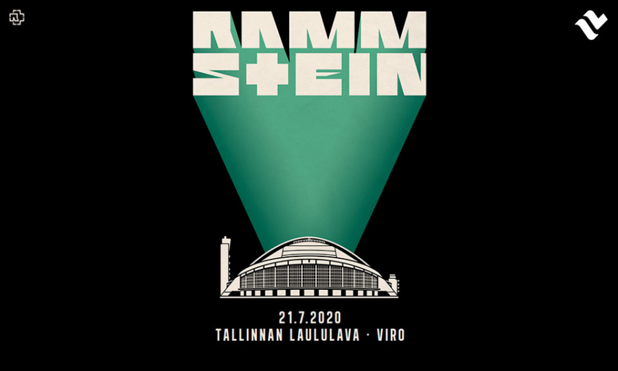 Rammstein Tallinnassa 21.7. - 22.7.2020 1