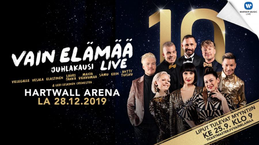 Vain elämää  live - Juhlakausi Hartwall Arenalla 1