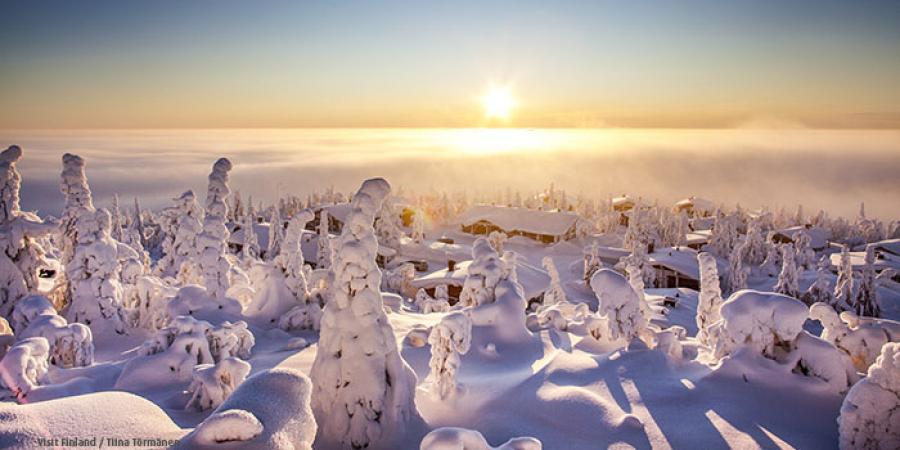 Keväthangille Saariselälle 29.3. - 4.4.2021 1