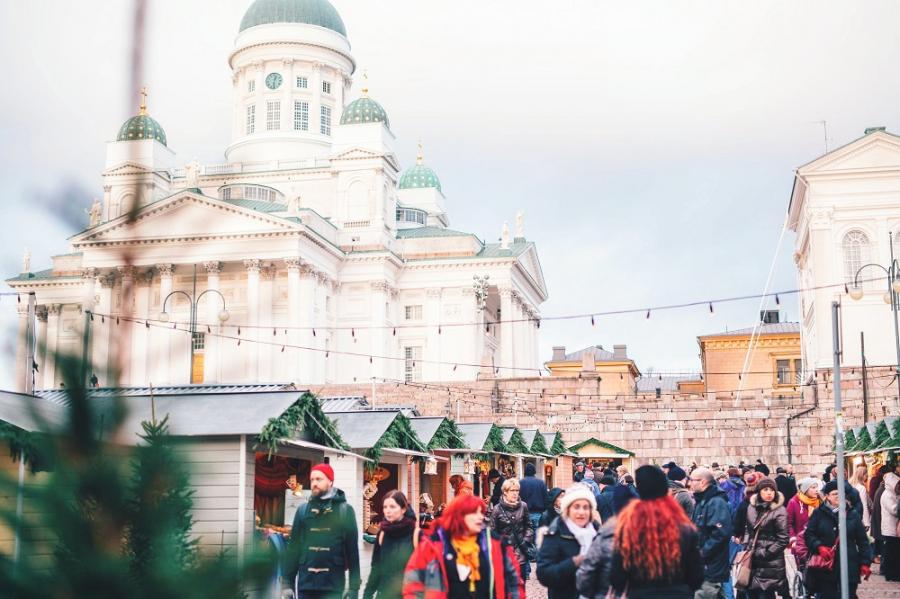 Tampereelta: Helene Schjerfbeck ja jouluinen Helsinki 3